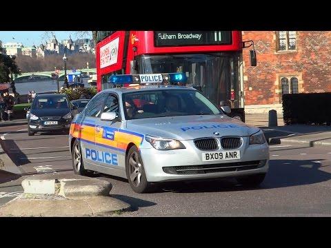 RARE - Metropolitan Police BMW 525d Area Car (Ex-ARV) responding w/ HYPERYELP