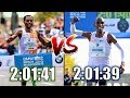 KENENISA BEKELE VS. ELIUD KIPCHOGE    MARATHON GREATNESS COMPARISON