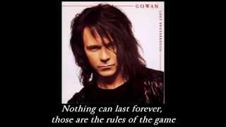 Watch Gowan Love Makes You Believe video