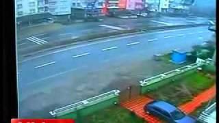 Ordu'da feci kaza kamerada - Gazete32