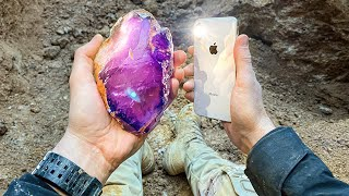 Digging for Super Valuable Amethyst Crystals at Private Mine! (Expensive Gems Found)