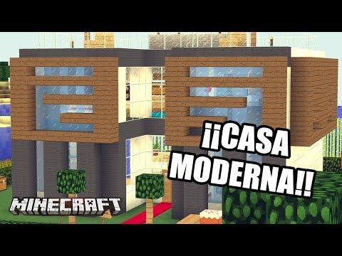 MINECRAFT: ¡¡CASA MODERNA CASAS DE SUBS