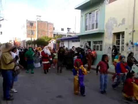 Danzas honor a Virgen de los Remedios  2012, Comonfort,GTO.