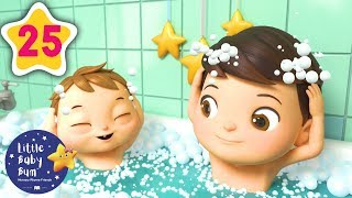 Learning Songs for Kids   Bath Song   Baby Cartoons and Kids Songs   Little Baby Bum