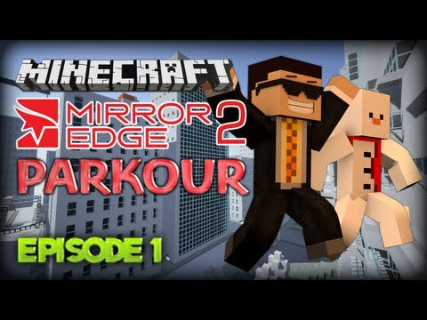 NEW SERIES! Minecraft: Mirror's Edge 2 Parkour Map Part 1