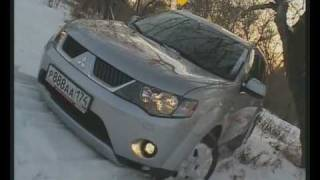 Mitsubishi Outlander XL test-drive (autoliga.tv)