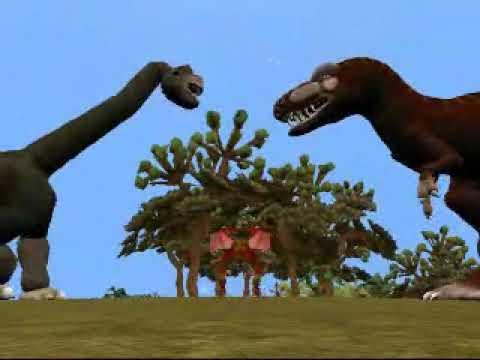 Spore Epic Dinosaur battles