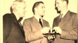 Lou Holtz to Johnny Lujack & Paul Hornung from Notre Dame
