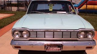 1964 Rambler Classic 660 Two Door Sedan BluDaytona032815
