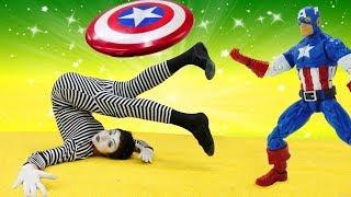 Palyaço ve Süper Kahramanlar bir takımdalar!