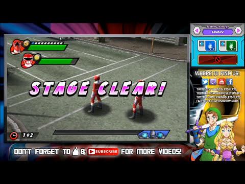 Power Rangers Super Megaforce: A Legendary Battle - PART 1 (HD Walkthrough) 3DS