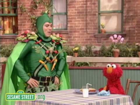 Sesame Street: John Leguizamo Is Captain Vegetable Video