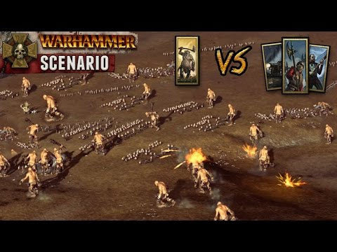 Total War: Warhammer - Giant Invasion (40 Giants vs Empire Army)