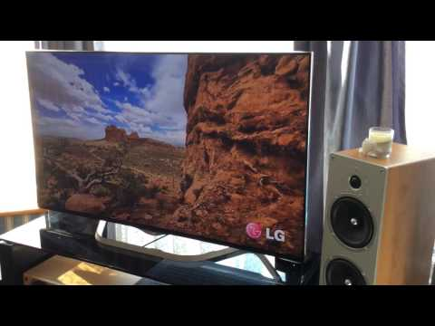 LG 4K UltraHD 2014 - 2015 Model - Unboxing, Setup & Demo. WebOS 49UB850V UB950V