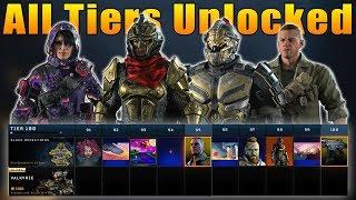 Black Ops 4: Operation Absolute Zero All 100 Tiers Unlocked (New Black Market)