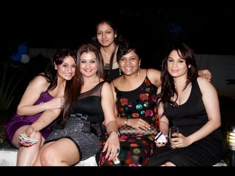 Kollywood Stars At Sona Birthday Bash