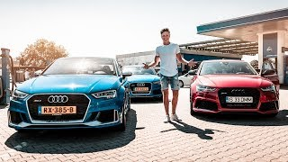 DEZE Audi RS3 is SNELLER dan een RS6!!! | Akker RS Performance Day