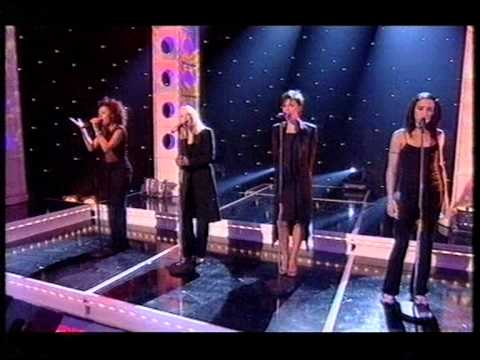Spice Girls - Goodbye @ National Lottery (12.12.98)