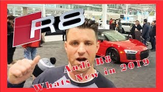 The All new AUDI R8 reveal at the International Auto Expo - Flying Wheels