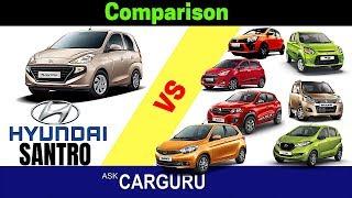 Hyundai Santro & Competitors By CARGURU.