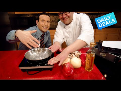 Fastest Chef Cooking Induction Cooktop Review ► The Deal Guy