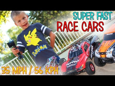 REALLY FAST RC CARS & FLIPPING MOTORCYCLE