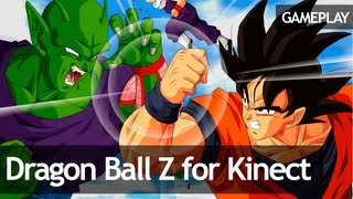 Dragon Ball Z for Kinect - Gameplay #1 (Tutorial)