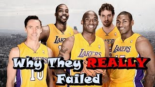 The Full Story Of The WORST Superteam In NBA History!