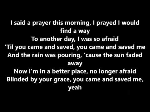 Blinded by your grace by Stormzy ft. MNEK lyrics
