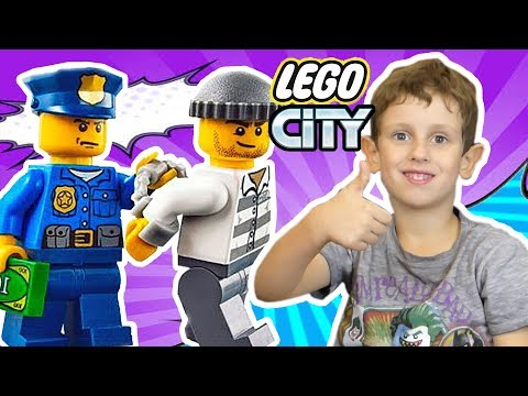 Лего мультик. Погоня за Джеком и Лего полиция. Мультфильм Lego все серии подряд