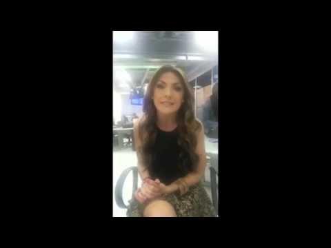 Saludo De La Presentadora De Farandula Rcn Ana Karina Soto video