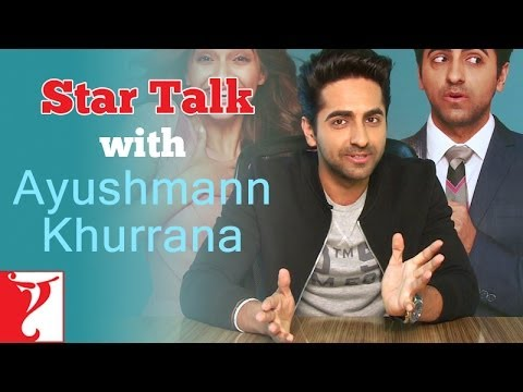 Star Talk with Ayushmann Khurrana - Bewakoofiyaan