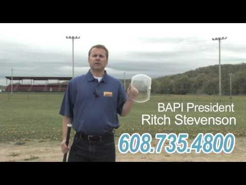 BAPI-Guard - Thermostat Protector Survives Baseball Bat Assault