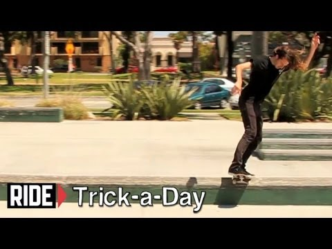 How-To Switch Frontside Boardslide With Matt Bennett - Trick-a-Day