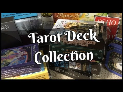 Tarot Deck Collection 2017  //  30 in print, out of print, mass produced and indie tarot decks!