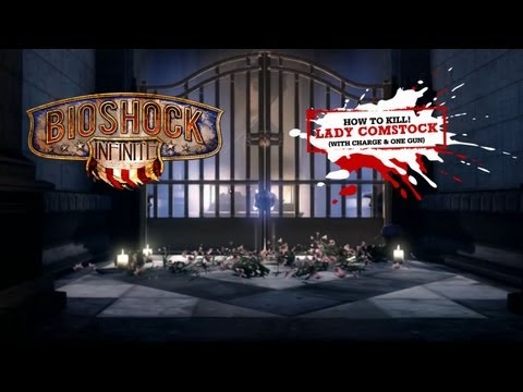 BioShock Infinite: How to Kill Lady Comstock the Ghost Siren (NO CHEAP TACTICS) in 20secs