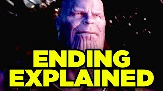 INFINITY WAR ENDING EXPLAINED! Thanos