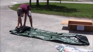 Saturn Inflatable Fishing Kayak Pro Angler FK396 Unboxing and Assembling.