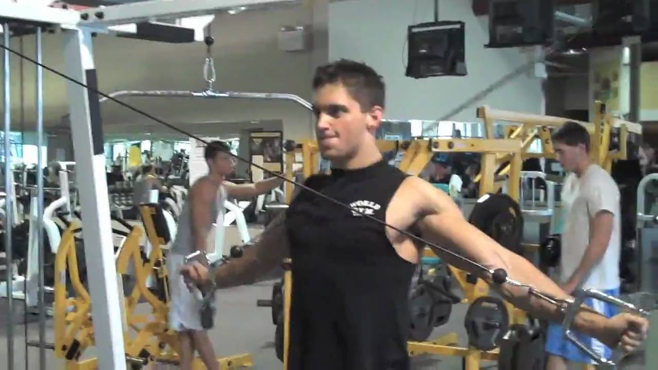Rear Delt Cable Raise Shock And Awe Rear Deltoid