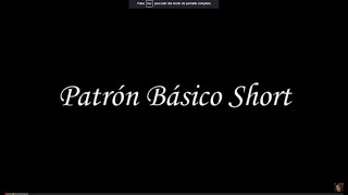 Como Hacer El Patron Basico De El Short  How to Make the Basic Pattern of the Short - Jazmin Gatelum