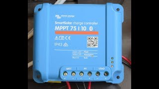 Victron 7510 MPPT SmartSolar Charge Controller with Built in Bluetooth- First Look