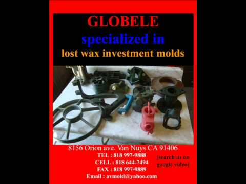 Globele Lost Wax Investment Molds