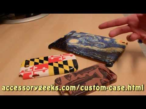 Custom Phone Cases for the Apple iPhone, Samsung Galaxy, and iPad
