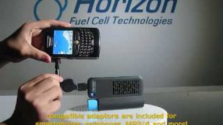 Horizon's NEW MiniPak - compact fuel cell power supply for your power-hungry portable electronics