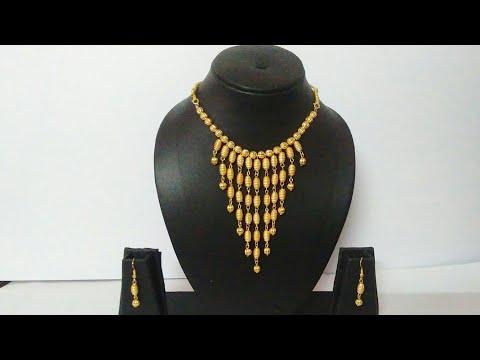 How To Make Bridal Necklace // Designer Beed Necklace // DIY // Chokar // Home Made arts and crafts