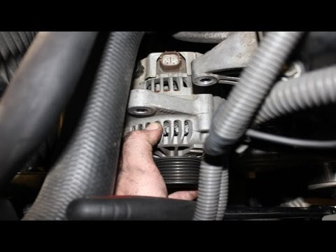 how to replace alternator toyota tacoma how to save money and do it yourself. Black Bedroom Furniture Sets. Home Design Ideas