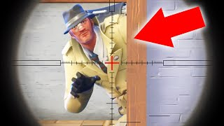 ELIMINATE The SPY To Win The Game! (Fortnite Snipers vs. Spies)