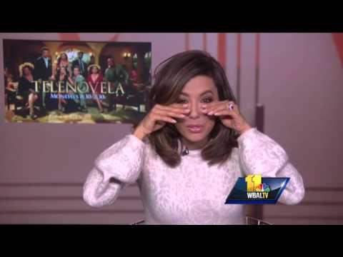 Eva Longoria can't stop laughing