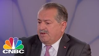 DOW CEO: Let's Go For 15% Corporate Tax To Compete Internationally | Squawk Box | CNBC