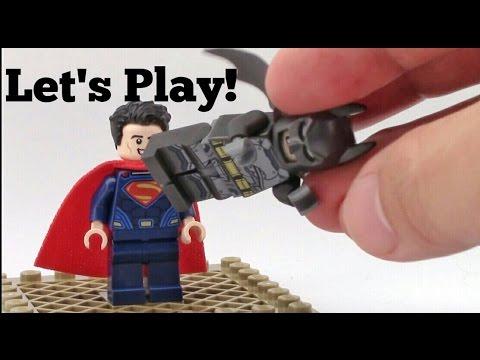 LEGO Batman VS Superman - Let's Play!